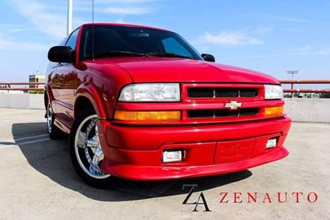 2002 Chevrolet Blazer for sale at Zen Auto Sales in Sacramento CA