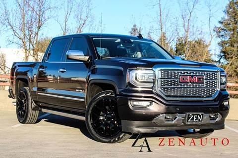 2016 GMC Sierra 1500 for sale at Zen Auto Sales in Sacramento CA