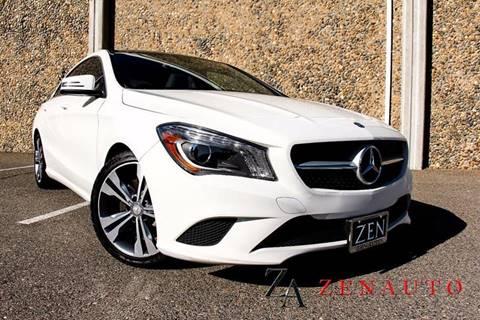 2014 Mercedes-Benz CLA for sale at Zen Auto Sales in Sacramento CA