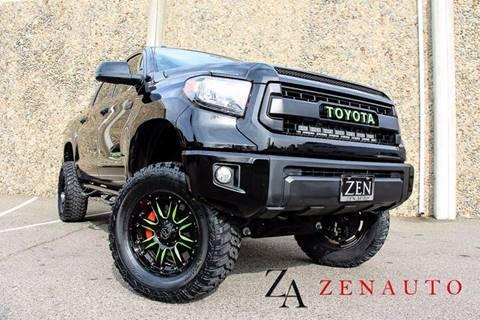 2015 Toyota Tundra for sale at Zen Auto Sales in Sacramento CA
