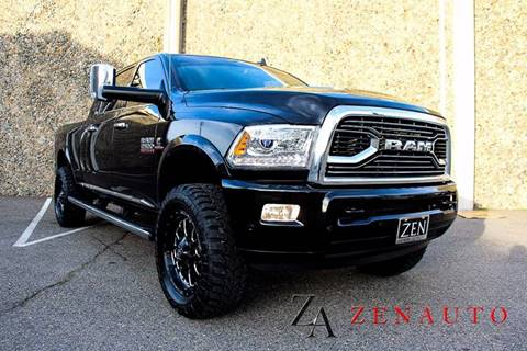 2016 RAM Ram Pickup 2500 for sale at Zen Auto Sales in Sacramento CA