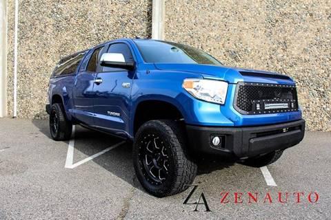 2016 Toyota Tundra for sale at Zen Auto Sales in Sacramento CA