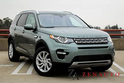 2016 Land Rover Discovery Sport for sale at Zen Auto Sales in Sacramento CA