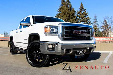 2015 GMC Sierra 1500 for sale at Zen Auto Sales in Sacramento CA
