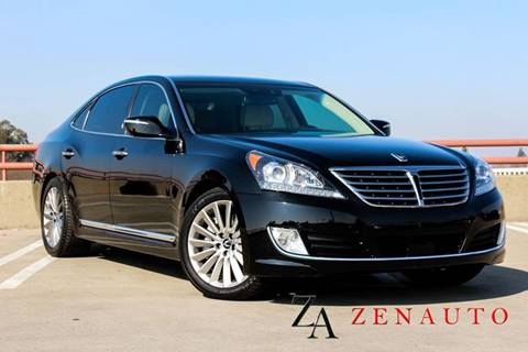 2015 Hyundai Equus for sale at Zen Auto Sales in Sacramento CA