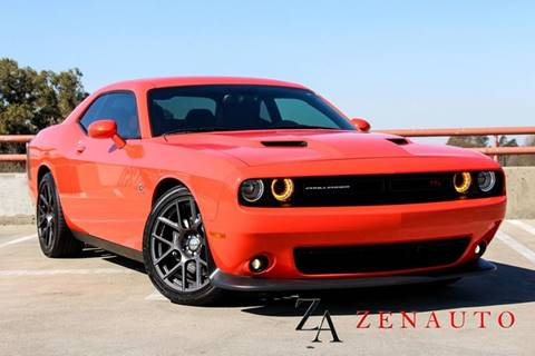 2016 Dodge Challenger for sale at Zen Auto Sales in Sacramento CA
