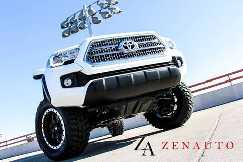 2016 Toyota Tacoma for sale at Zen Auto Sales in Sacramento CA