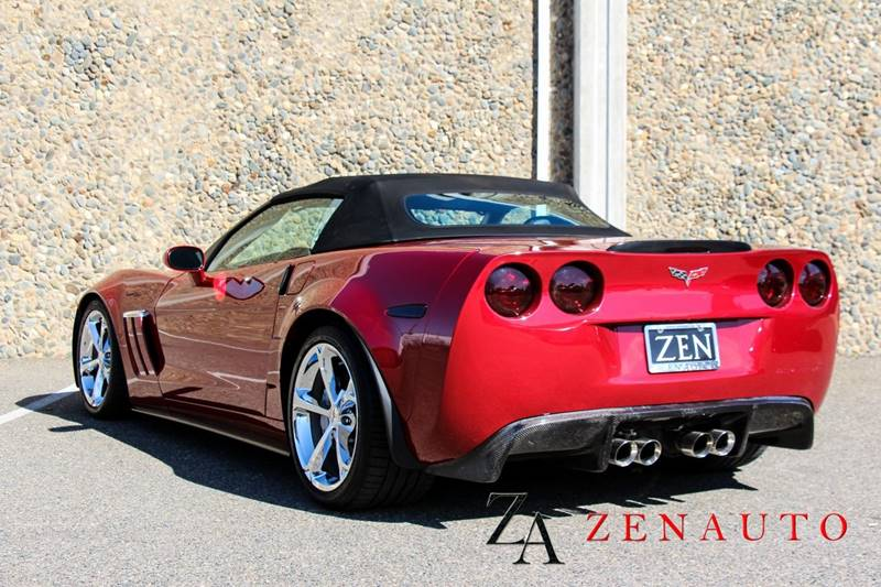 1014334842 - 2010 Chevrolet Corvette Convertible 3lt At