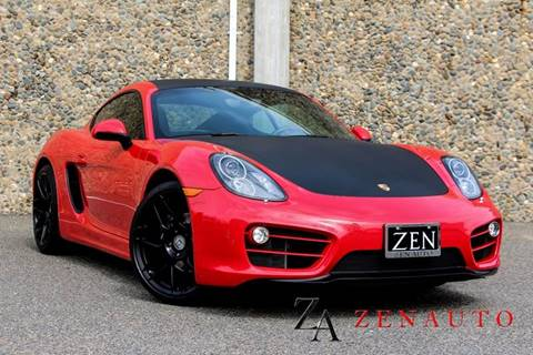 2014 Porsche Cayman for sale at Zen Auto Sales in Sacramento CA