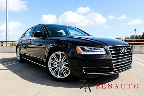 2015 Audi A8 L for sale at Zen Auto Sales in Sacramento CA
