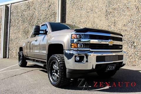 2015 Chevrolet Silverado 3500HD for sale at Zen Auto Sales in Sacramento CA