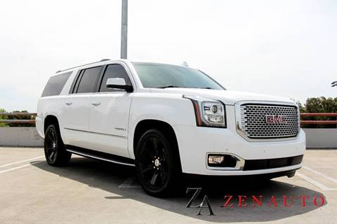 2015 GMC Yukon XL for sale at Zen Auto Sales in Sacramento CA