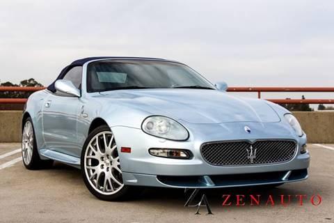 2006 Maserati GranSport for sale at Zen Auto Sales in Sacramento CA