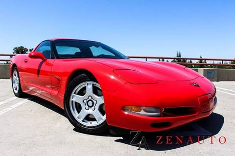 1999 Chevrolet Corvette for sale at Zen Auto Sales in Sacramento CA