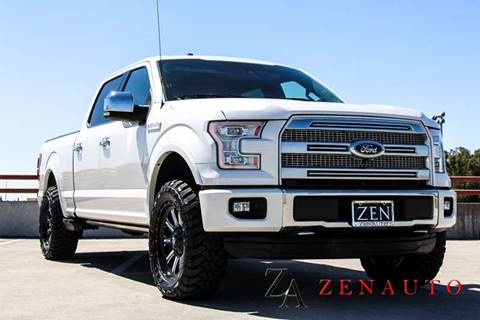 2015 Ford F-150 for sale at Zen Auto Sales in Sacramento CA
