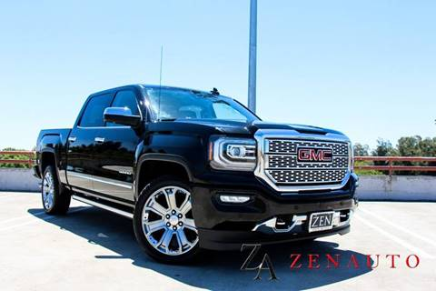 2017 GMC Sierra 1500 for sale at Zen Auto Sales in Sacramento CA