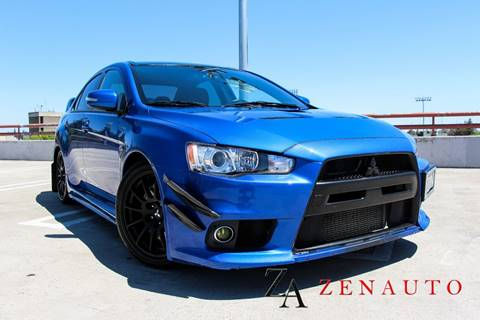 2015 Mitsubishi Lancer Evolution for sale at Zen Auto Sales in Sacramento CA