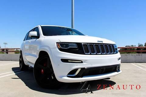 2016 Jeep Grand Cherokee for sale at Zen Auto Sales in Sacramento CA