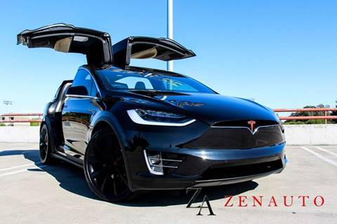 2016 Tesla Model X for sale at Zen Auto Sales in Sacramento CA