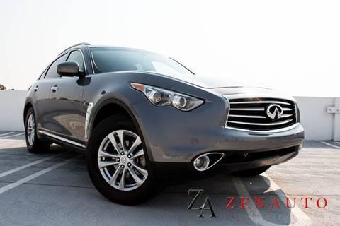 2016 Infiniti QX70 for sale at Zen Auto Sales in Sacramento CA