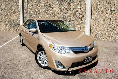 2012 Toyota Camry Hybrid for sale at Zen Auto Sales in Sacramento CA