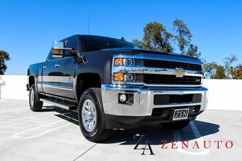 2016 Chevrolet Silverado 3500HD for sale at Zen Auto Sales in Sacramento CA