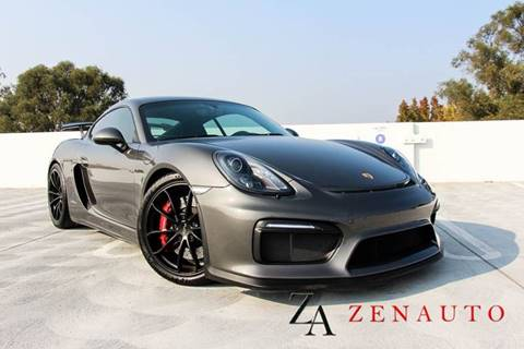 2016 Porsche Cayman for sale at Zen Auto Sales in Sacramento CA