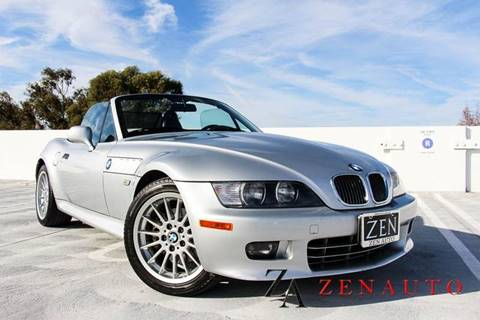 2001 BMW Z3 for sale at Zen Auto Sales in Sacramento CA