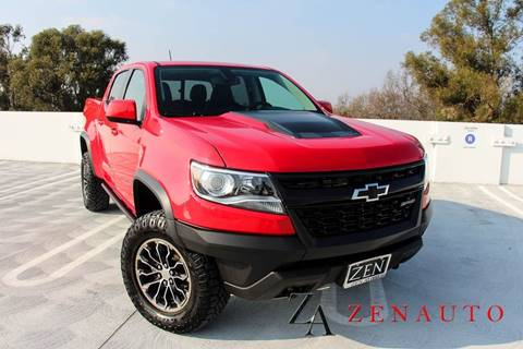 2018 Chevrolet Colorado for sale at Zen Auto Sales in Sacramento CA