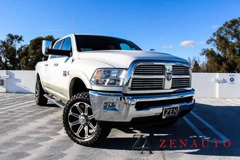 2011 RAM Ram Pickup 2500 for sale at Zen Auto Sales in Sacramento CA