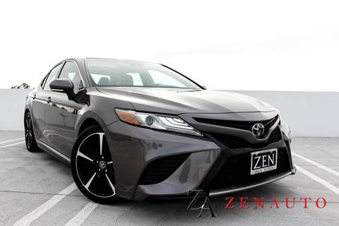 2018 Toyota Camry for sale at Zen Auto Sales in Sacramento CA