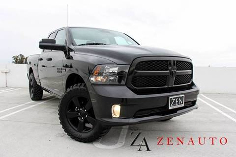 2015 RAM Ram Pickup 1500 for sale at Zen Auto Sales in Sacramento CA