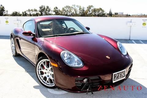 2007 Porsche Cayman for sale at Zen Auto Sales in Sacramento CA