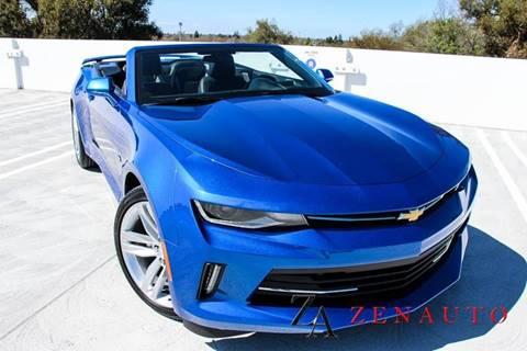 2016 Chevrolet Camaro for sale at Zen Auto Sales in Sacramento CA