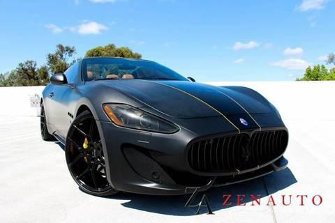 2010 Maserati GranTurismo for sale at Zen Auto Sales in Sacramento CA