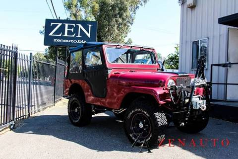 1960 Jeep Willys for sale in Sacramento, CA