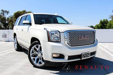 2015 GMC Yukon for sale at Zen Auto Sales in Sacramento CA