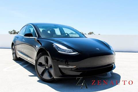 2018 Tesla Model 3 for sale at Zen Auto Sales in Sacramento CA