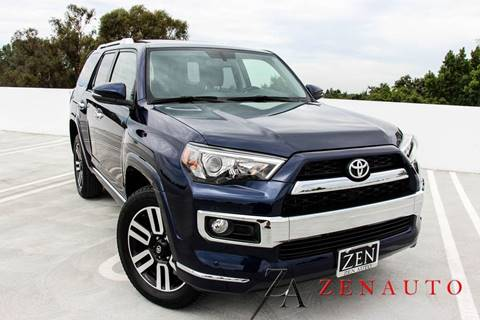 2018 Toyota 4Runner for sale at Zen Auto Sales in Sacramento CA