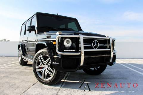 2015 Mercedes-Benz G-Class for sale at Zen Auto Sales in Sacramento CA