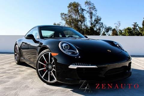 2014 Porsche 911 for sale at Zen Auto Sales in Sacramento CA
