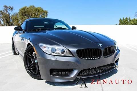 2015 BMW Z4 for sale at Zen Auto Sales in Sacramento CA