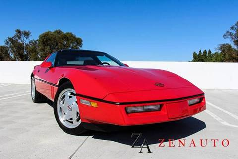 1989 Chevrolet Corvette for sale at Zen Auto Sales in Sacramento CA