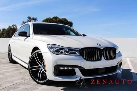 2018 BMW 7 Series for sale at Zen Auto Sales in Sacramento CA