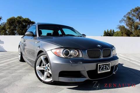 2009 BMW 1 Series for sale at Zen Auto Sales in Sacramento CA
