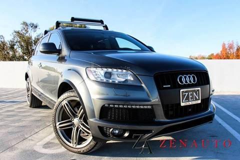 2015 Audi Q7 for sale at Zen Auto Sales in Sacramento CA