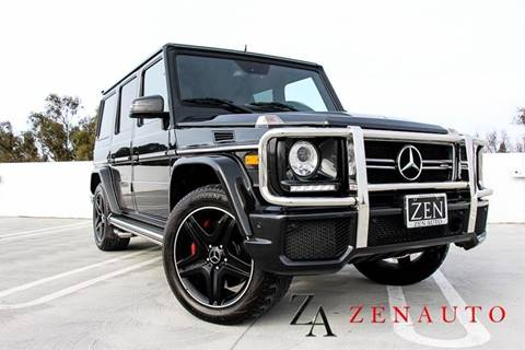 2016 Mercedes-Benz G-Class for sale at Zen Auto Sales in Sacramento CA