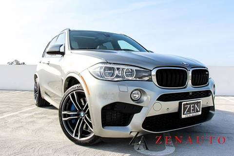 2016 BMW X5 M for sale at Zen Auto Sales in Sacramento CA