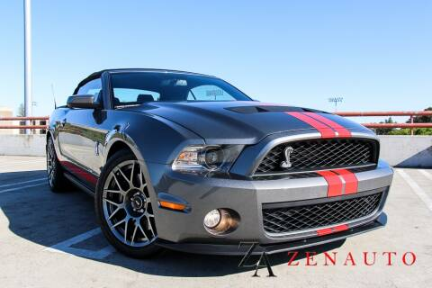 2011 Ford Shelby GT500 for sale at Zen Auto Sales in Sacramento CA