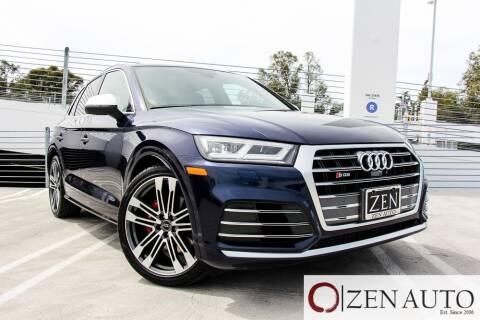 2018 Audi SQ5 for sale at Zen Auto Sales in Sacramento CA